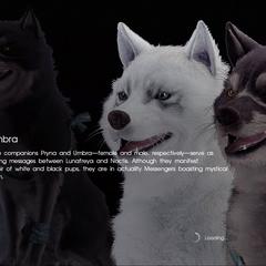 <i>Final Fantasy XV</i> loading screen.