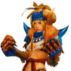 Rikku as a Berserker.