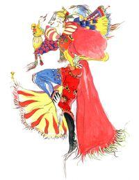 Рисунок Ёситаки Амано.