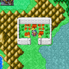 Bafsk on the World Map (GBA).