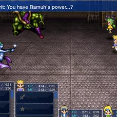 Ifrit and Shiva react to Ramuh.