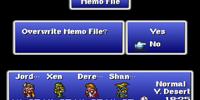 Memo File