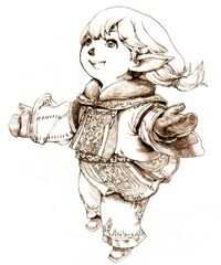 White Mage FFXI Ikeda Art