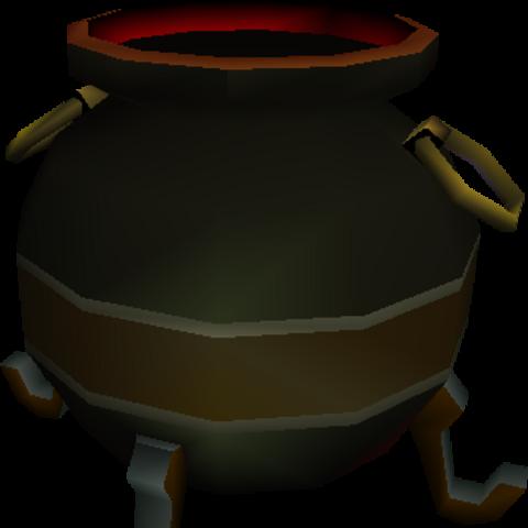 Model for Hades's cauldron in <i>Final Fantasy VII</i>.