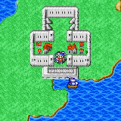 Poft on the World Map (GBA).