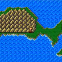 Mount Hobs on the overworld in <i>Final Fantasy IV: The After Years</i> (Wii).