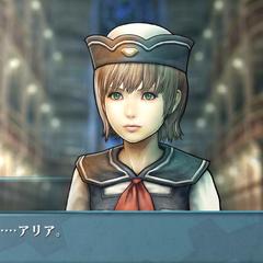 Screenshot of Aria in <i>Agito</i>.