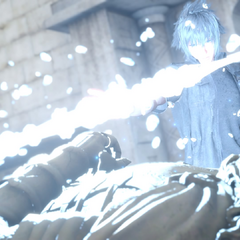 Noctis collects the Royal Arm.