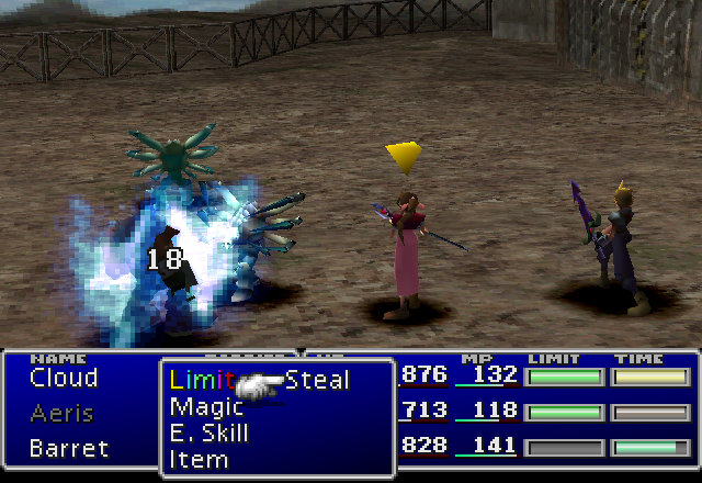 File:FFVII Death Claw.png
