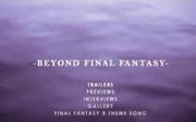 Beyond final fantasy