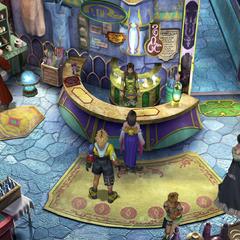 The inn in <i>Final Fantasy X</i>.