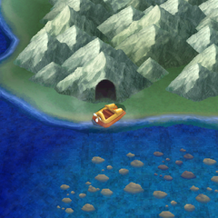 Eblan Cave on the world map (DS/iOS).