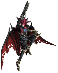 Chaos as he appears in Dirge of Cerberus -Final Fantasy VII-.