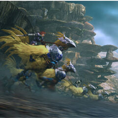 Chocobo Knights in battle.