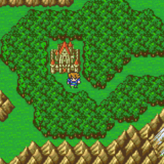 The Castle of Bal on the Merged World (GBA).