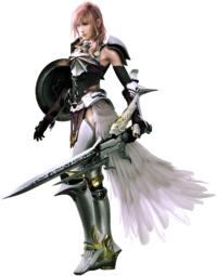 Лайтнинг в Final Fantasy XIII-2.