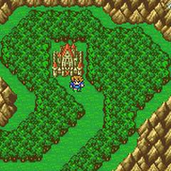 Castle Tycoon on Bartz's World Overworld (GBA).