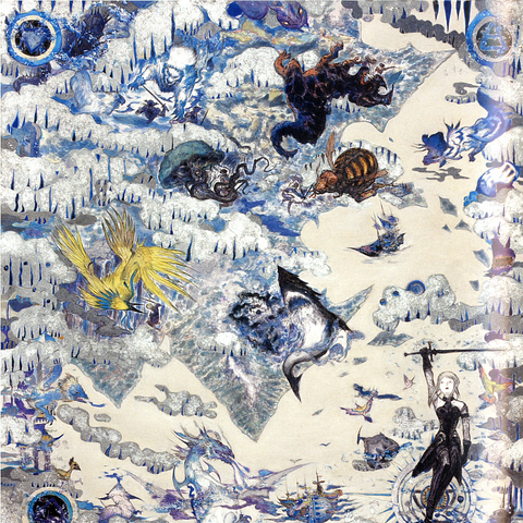 The Naakuals, as depicted in artwork by Yoshitaka Amano.