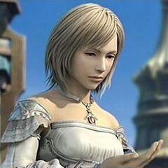 Ashe during the ending of <i>Final Fantasy XII</i>.