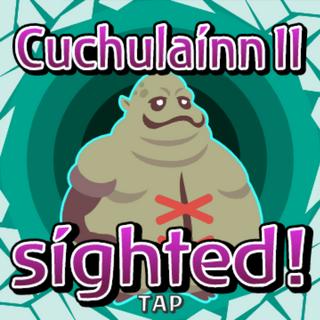 Cuchulaínn II sighted inside Gate Crystal.