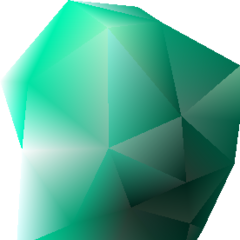 Green Huge Materia (Master Magic).