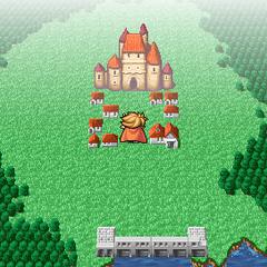 Elfheim on the World Map (PSP).