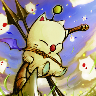 Moogle's card artwork for the <i>Lord of Vermilion</i>.