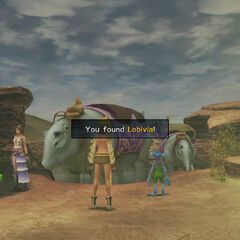 Shoopuf in Bikanel Desert, <i>Final Fantasy X-2</i>.