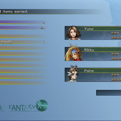 <i>Final Fantasy X-2 HD Remaster</i> (PS3).