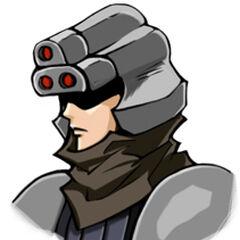 Shinra infantryman in <i>Before Crisis</i>.
