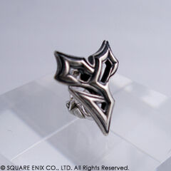 Silver pin.