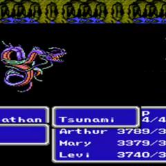 Tsunami in the NES version