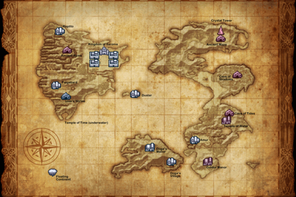 FFIII Surface iOS Map