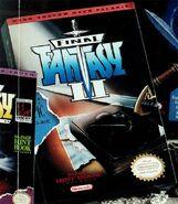 Final Fantasy II unused box art