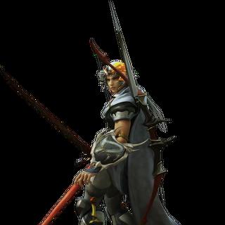 CG render of Firion in <i>Dissidia Final Fantasy</i>.