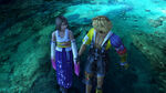 Yuna and Tidus after their romance scene.jpg