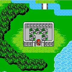 Altair on the World Map (NES).