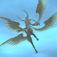 Garuda in <i>Final Fantasy XIV</i>.