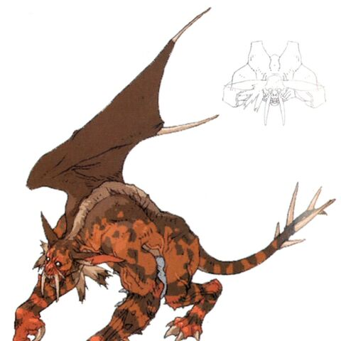 Concept art for the Manticore