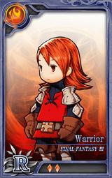FF3 Warrior (Refia) R F Artniks