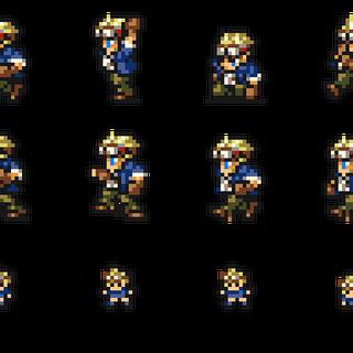 Set of Cid's sprites.