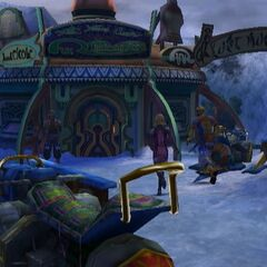 Lake Macalania agency in <i>Final Fantasy X-2</i> has been bought by O'aka.
