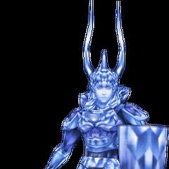 The Warrior's manikin, False Hero.