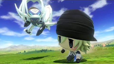 World of Final Fantasy Snow Champion Summon (1080p 60fps)