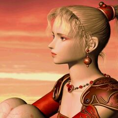 Terra in an FMV from <i>Anthology</i>.