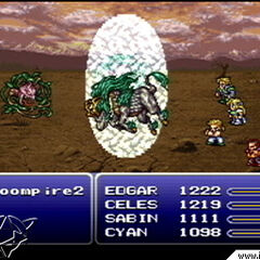Kirin in <i>Final Fantasy VI</i> (PS).
