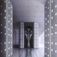 Concept art of the Narthex.