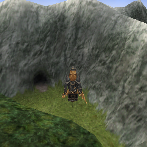 The entrance to Quan's Dwelling.