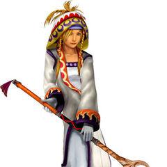 Rikku as a White Mage.