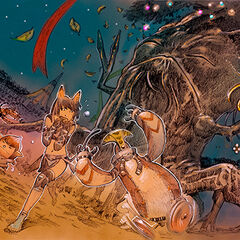 2006 Starlight Celebration artwork for <i>Final Fantasy XI</i>.